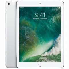 Used as Demo Apple iPad 5th Gen 9.7-inch 128GB Wifi + Cellular Silver (Excellent Grade)